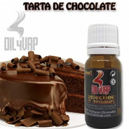Tarta de chocolate  Oil4Vap