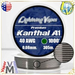 Kanthal A1 - 40AWG - 0,08mm...