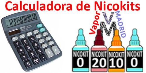 Calculadora de nicokits