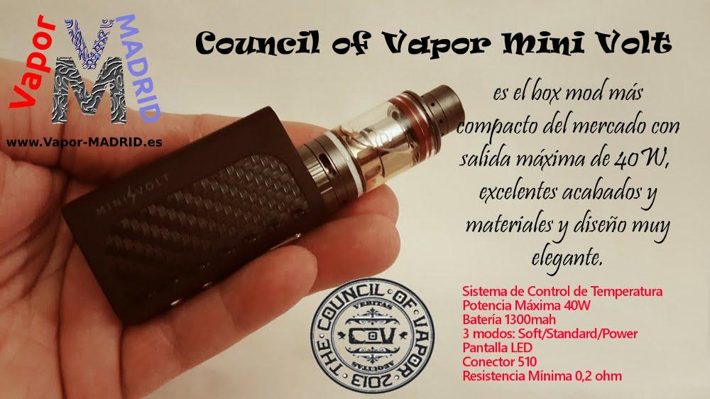 Mini Volt 40w - Council of Vapor