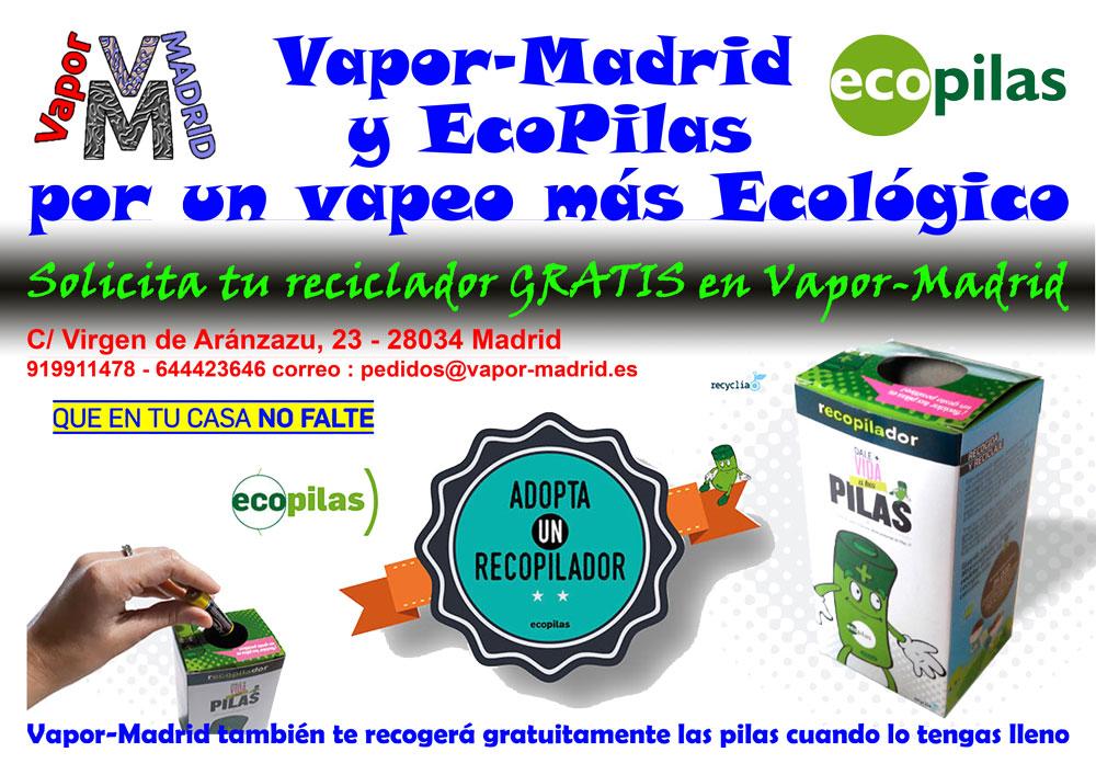 Recopilador Ecopilas Vapor-Madrid