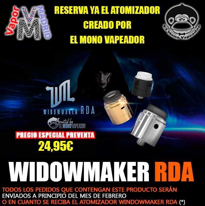 Widowmaker RDA by Mono Vapeador